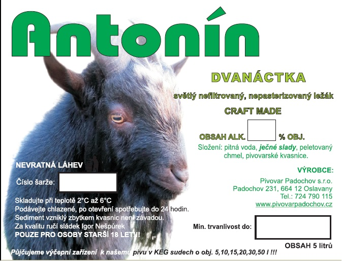 12% ANTONÍN (PARTY SOUDEK 5L)